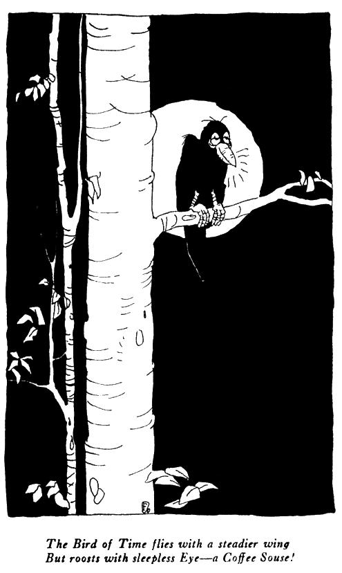 The Rubaiyat of Ohow Dryyam, Bird in Tree