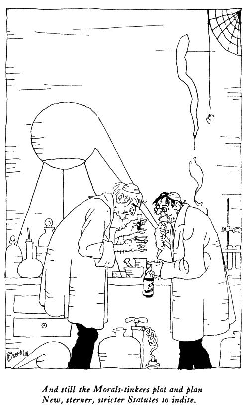 The Rubaiyat of Ohow Dryyam, Scientists